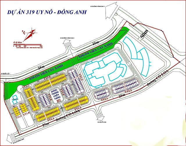 319 Uy Nỗ Đông Anh Bộ Quốc Phòng là dự án Đông Anh