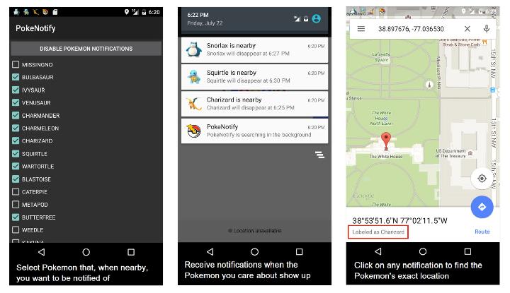 Download APK PokeNotify Terbaru Untuk Android