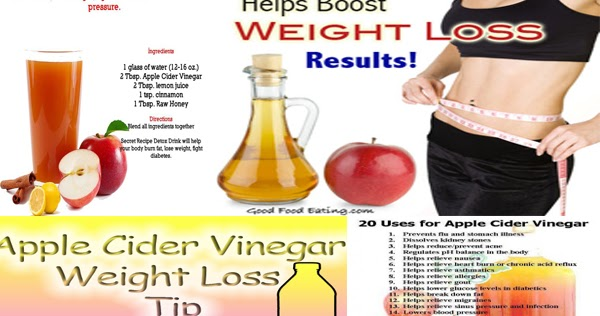 The Miracle Working Apple Cider Vinegar Weight Loss Plan