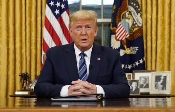 TT Trump cấm toàn bộ di chuyển từ châu Âu tới Mỹ trong 30 ngày