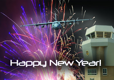 happy new year 3d photos
