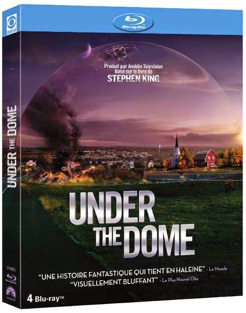 The Dome under the dome albin michel stephen king cbs barbie big jim rennie junior dale barbara ken julia shumway saison 1 saison 2 tome 1 2 * ** roman serie tv m6 usa france dean norris mike vogel rachel lefebre alexander koch extraterrestre et personnages adaptation fantastique coupé du monde colonel cox