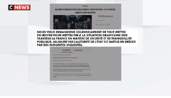 L'APPEL DES POLICIERS AU SURSAUT NATIONAL