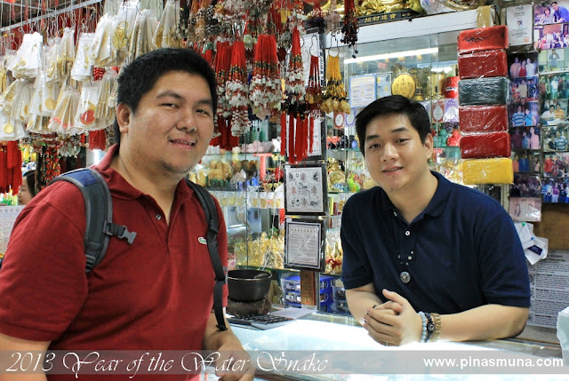 consultation with Mr. Johnson Chua, a Feng Shui expert based  in Binondo, Manila