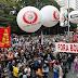 Ratusan Rakyat Brazil Turun ke Jalan Protes Akibat Potong Dana Anggaran Pendidikan