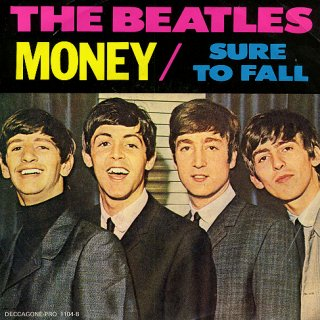 The Beatles Rare Album Cover Money With Sure To Fall