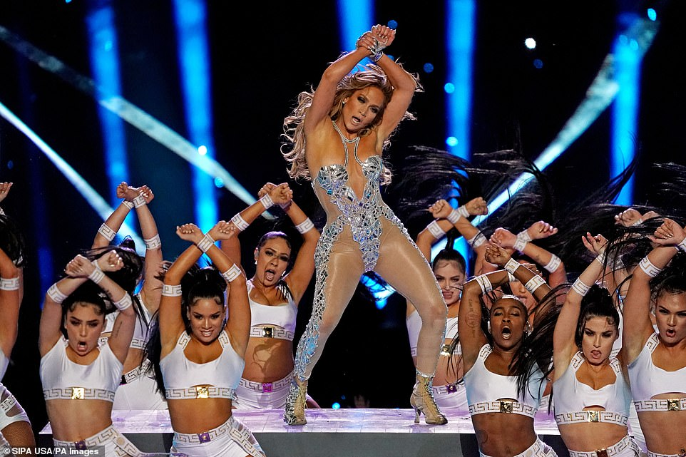 JLo's 2020 Super Bowl Half Time Show was filled with sexy displays of skin and curves