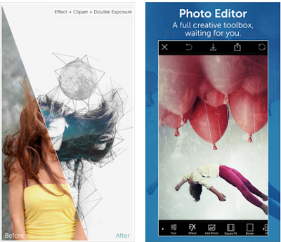 """Fotor is another best photo editing app for iPhone that was mentioned as the """"lite Photoshop"""" by BBC"""