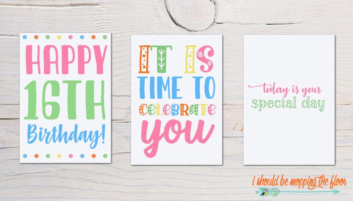Birthday Card Fonts