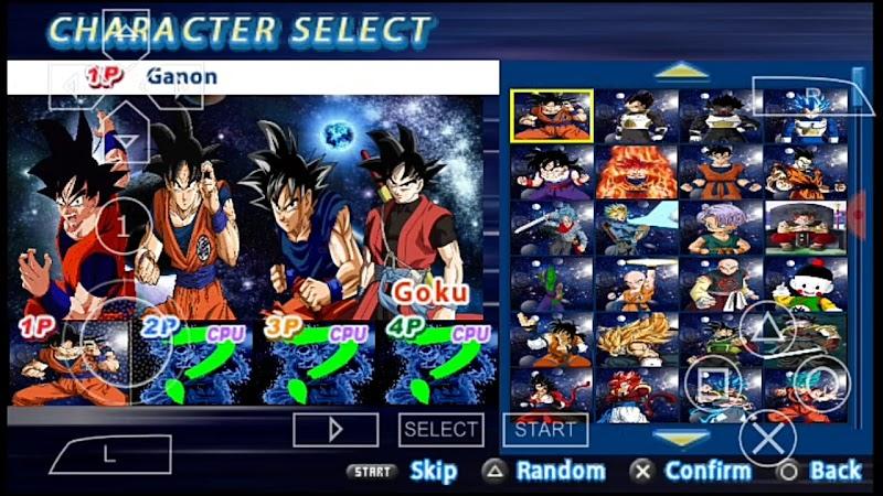 DBZ TTT V3 Mod Full Heroes ISO Download