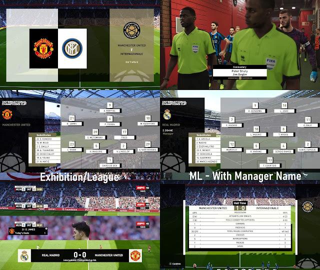 ICC Scoreboard For PES 2020 by spursfan18