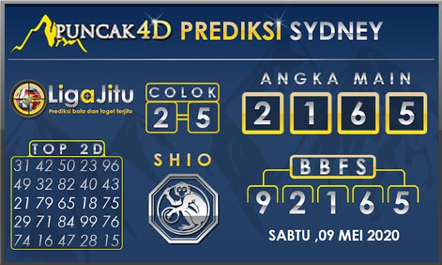 PREDIKSI TOGEL SYDNEY PUNCAK4D 09 MEI 2020