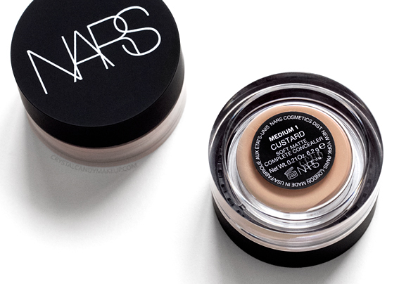 NARS Soft Matte Concealer Vanilla Custard Cannelle Honey Review
