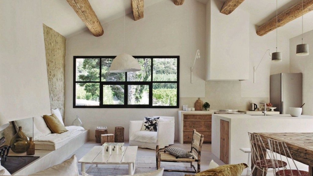 decordemon renovation of a farmhouse in provence by architect marie laure helmkampf. Black Bedroom Furniture Sets. Home Design Ideas