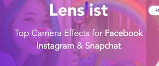 Lenslist