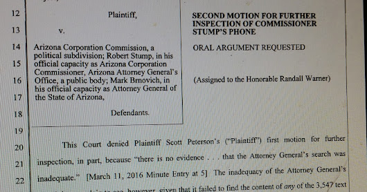 Did Trash Burner Bob think his long nightmare -- accounting to Arizona citizens -- was over already?