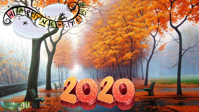 Happy New Year 2020 Latest Nature Desktop Background Free Download