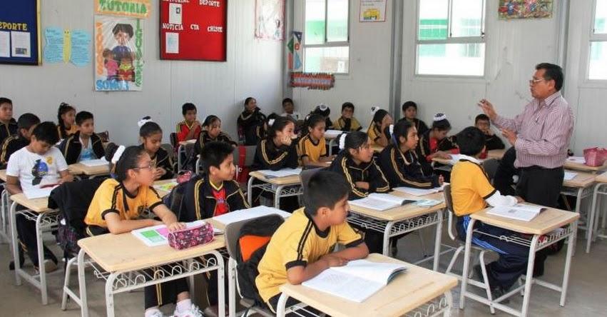 Colegios celebrarán Semana de la Educación Tributaria y Lucha contra el Contrabando (R. VM. Nº 042-2018-MINEDU) www.minedu.gob.pe