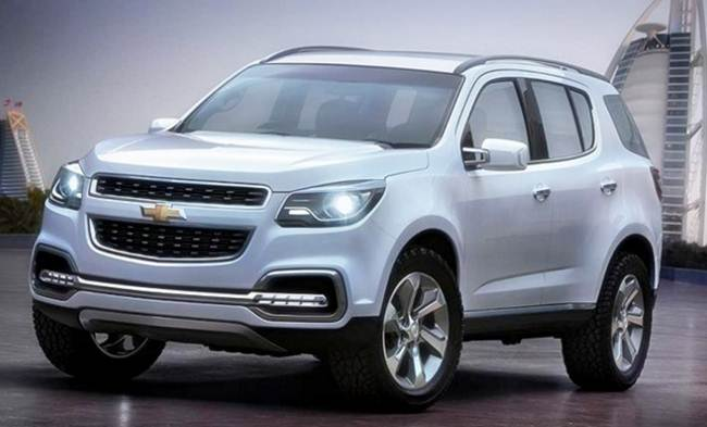 2017 Chevy Trailblazer Usa