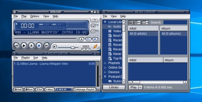 Winamp Classic, is back and available again for download | Hackesh