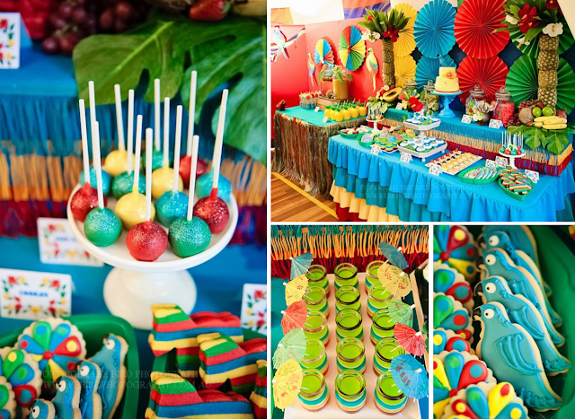tropical party theme and ideas