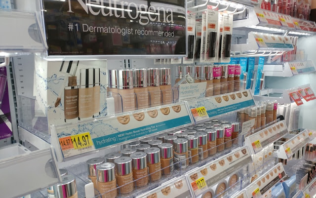 Pretty and fresh makeup look with Neutrogena at Walmart #ad