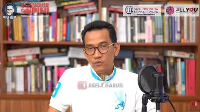 Rocky Gerung Ragu Jokowi sampai 2024, Refly Harun Ikut Mengingatkan