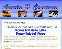 delivery de canciones para guitarra y piano free, chords