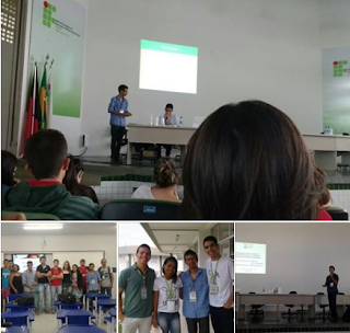 Picuiense proferiu palestra, ministrou minicurso e apresentou trabalho no IFPB