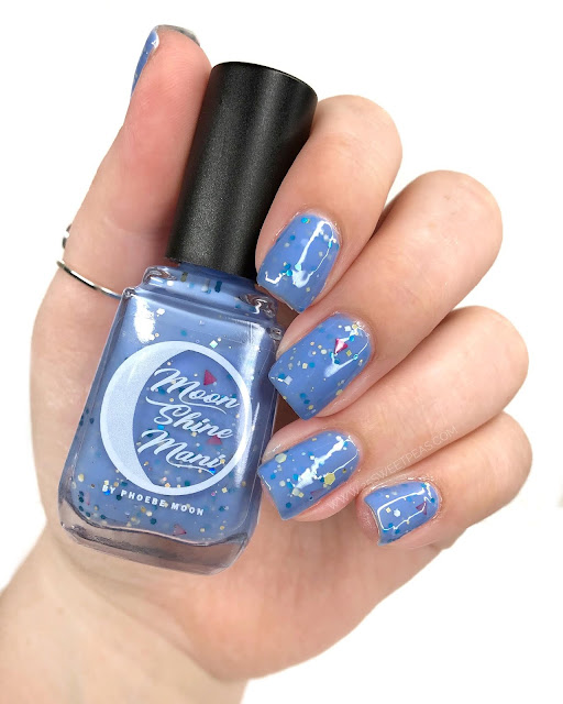Moon Shine Mani Honor's Blue Sky