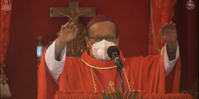 35 Menit Sebelum Bom Meledak, Uskup Agung Makassar Menutup Misa Dengan Doa Berkat 'Semoga Tuhan Melindungi'