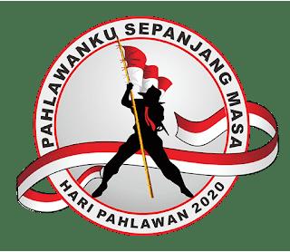 logo hari pahlawan 2020 versi png