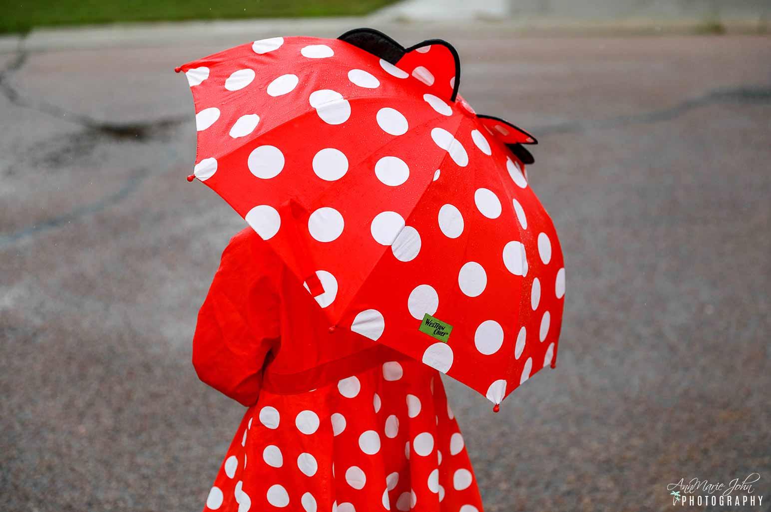 Child in Rain Gear
