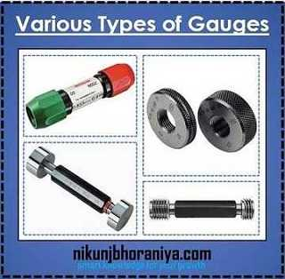 Types of Gauges are used in measurement?