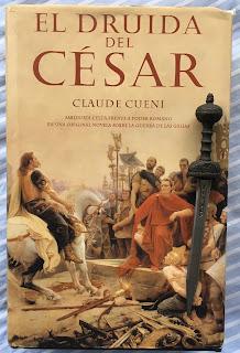 Portada del libro El druida de César, de Claude Cueni