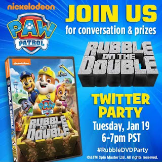 Twitter Party Paw Patrol Rubble on the Double