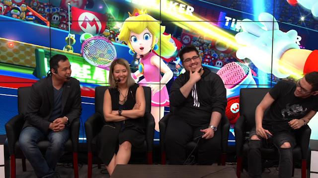 ZeRo ChuDat pose Nintendo Treehouse Live Nairo Mario Tennis Aces Yahyuzz
