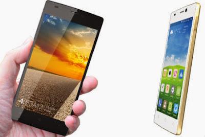 Harga Himax Pure S, Smartphone Octa Core Tertipis