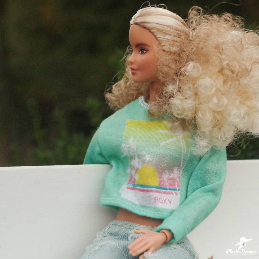 barbie en randonnée