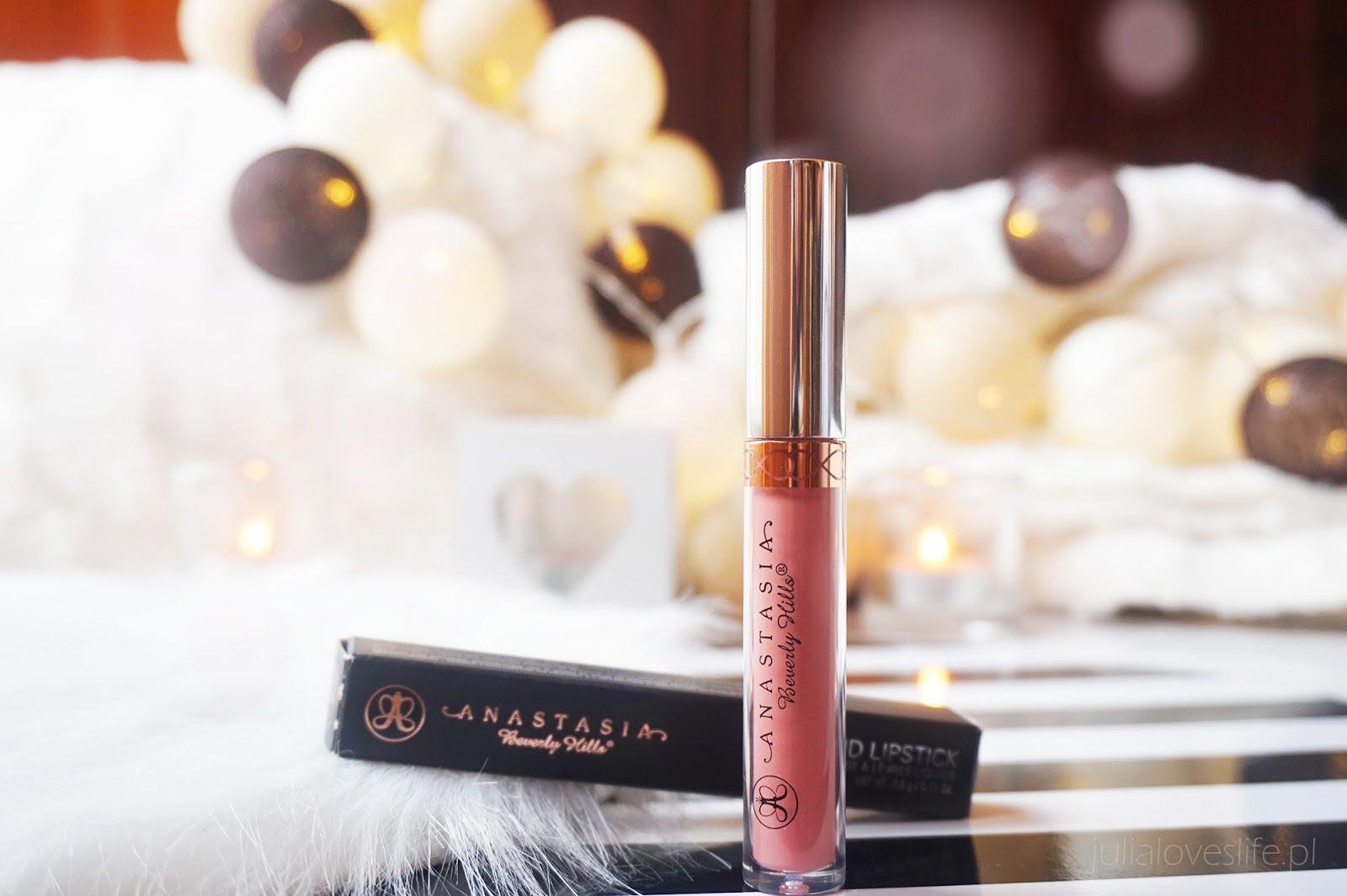 Anastasia Beverly Hills Liquid Lipstick - Crush | recenzja + swatche