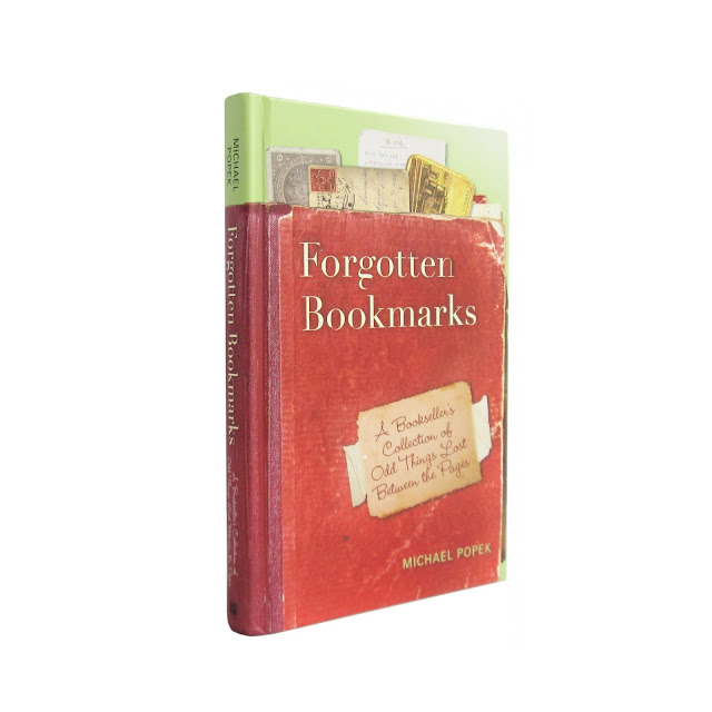 "Giveaway book: ""Forgotten Bookmarks"" by Michael Popek, 2011"