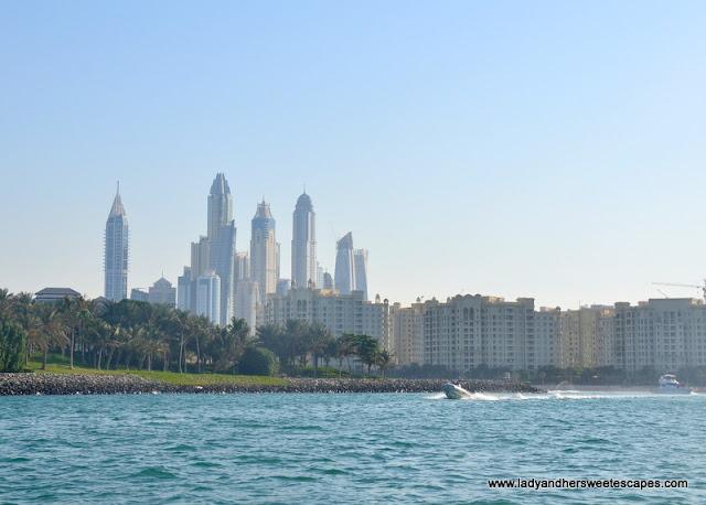 Princess Island and Dubai Marina