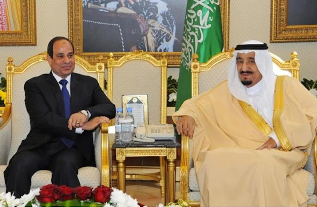 الملك سلمان يقف مع مصر ويعلنها رسمياً سنقف ضد كل من يستهدف مصر