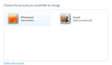 "Tutorial Cara Menambahkan User baru pada Windows 7 ""Create New User"""