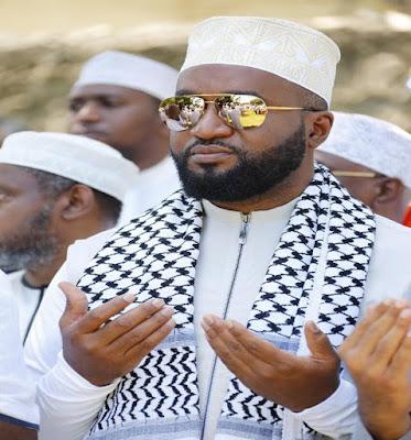 Mombasa Governor Hassan Joho in a prayer rally. PHOTO | BANA