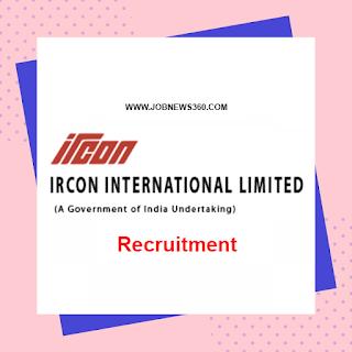 IRCON Recruitment 2020 for Graduate & Technician Apprentice
