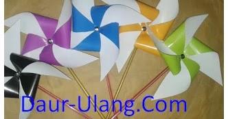 Membuat Kincir Angin Dari Kertas Origami Yang Bisa Berputar Daur Ulang