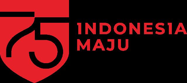 gambar logo hut ri 75, logo hut ri 75 png, logo indonesia maju