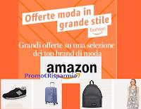 Logo Amazon Fashion Week giugno 2020 : sconti anche del 50% su abbigliamento, scarpe e accessori