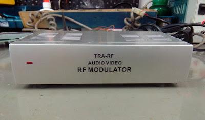 Modulador de RF para TV analógica